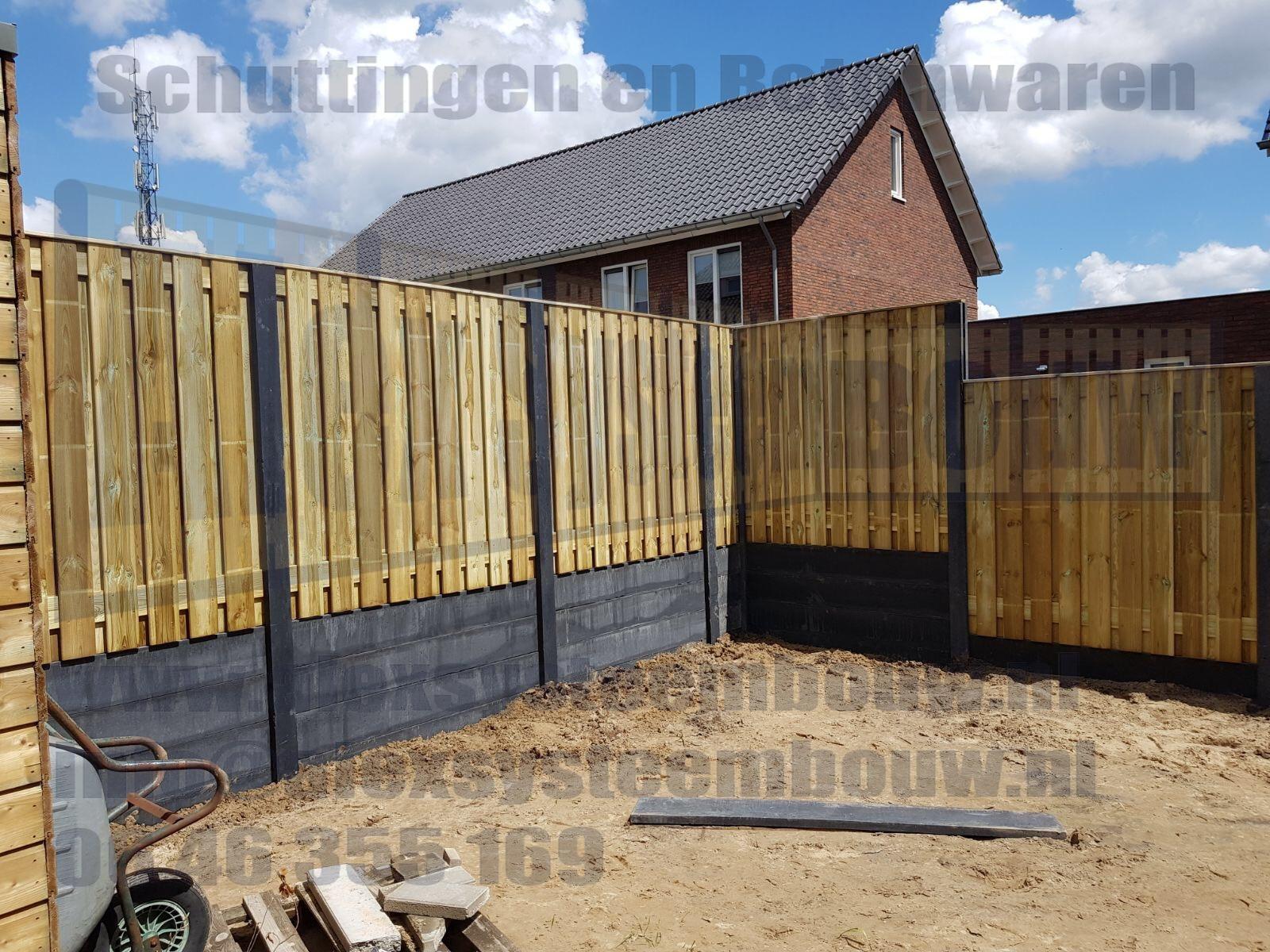 schutting-21-planks-hout-beton-extra-hoog-dubbele-onderplaat